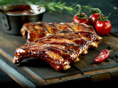 Rezept Spareribs Aus Dem Ofen Mit Zwiebel Honig
